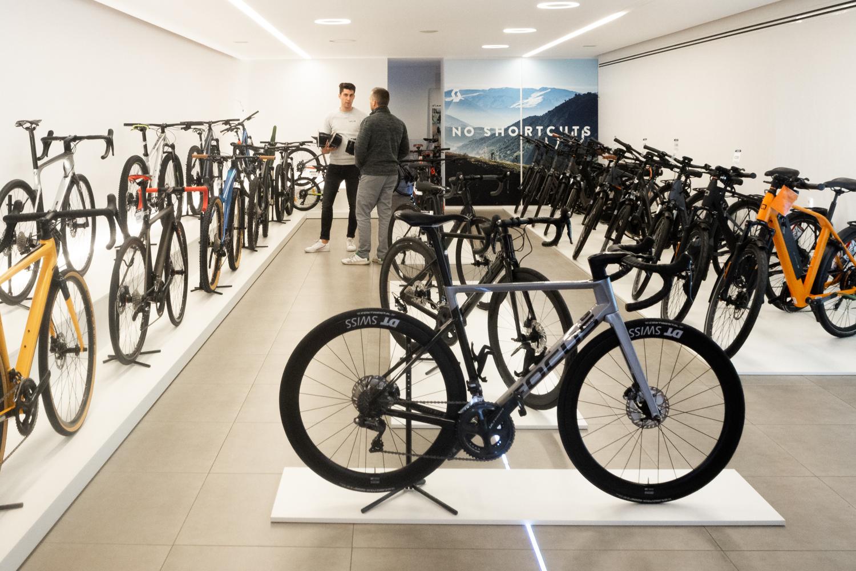 grand depart fietsenwinkel gent toonzaal